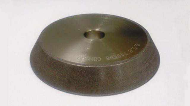 切れ味を良くする方法 「ドリル研磨機のボラゾン砥石 再電着」